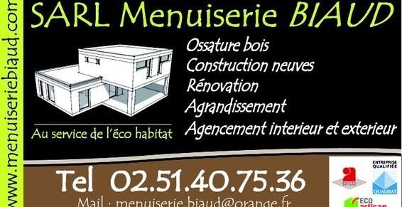 Menuiserie Biaud